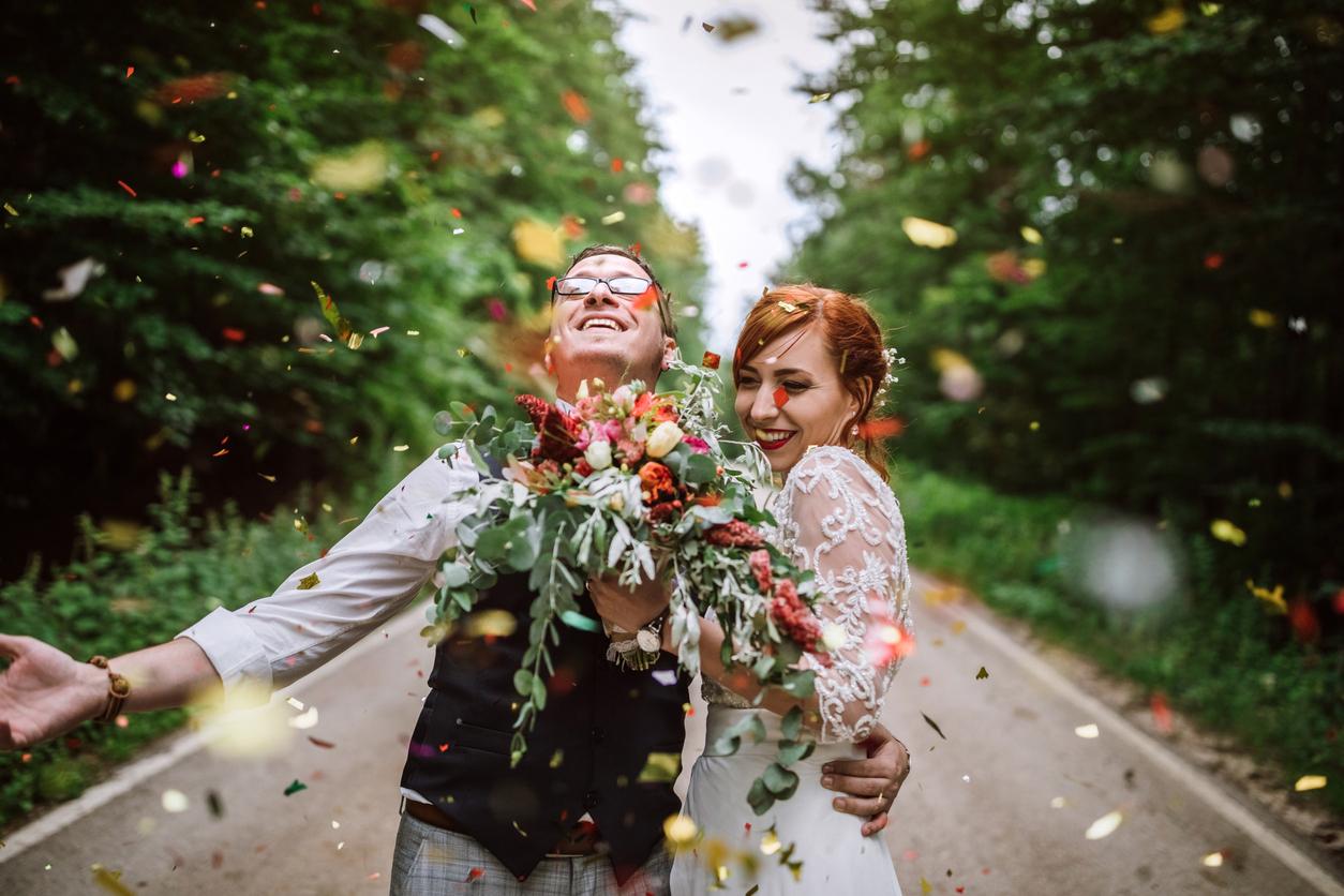 Tema för bröllop